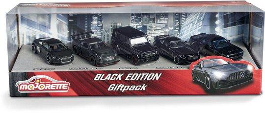 Majorette Biler Gavepakke Black Edition 5 Stk