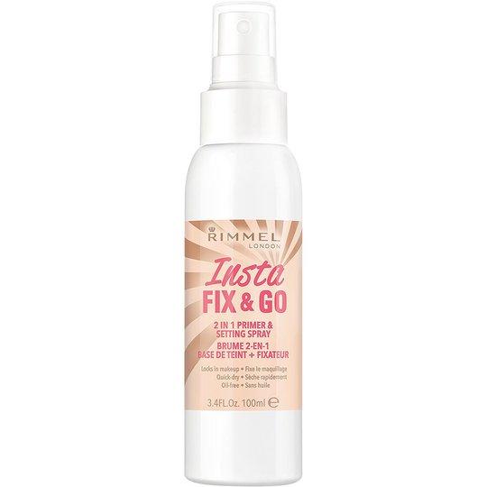 Insta Fix & Go Primer & Setting Spray, Rimmel London Kiinnityssuihke
