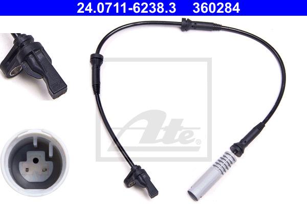 ABS-anturi ATE 24.0711-6238.3