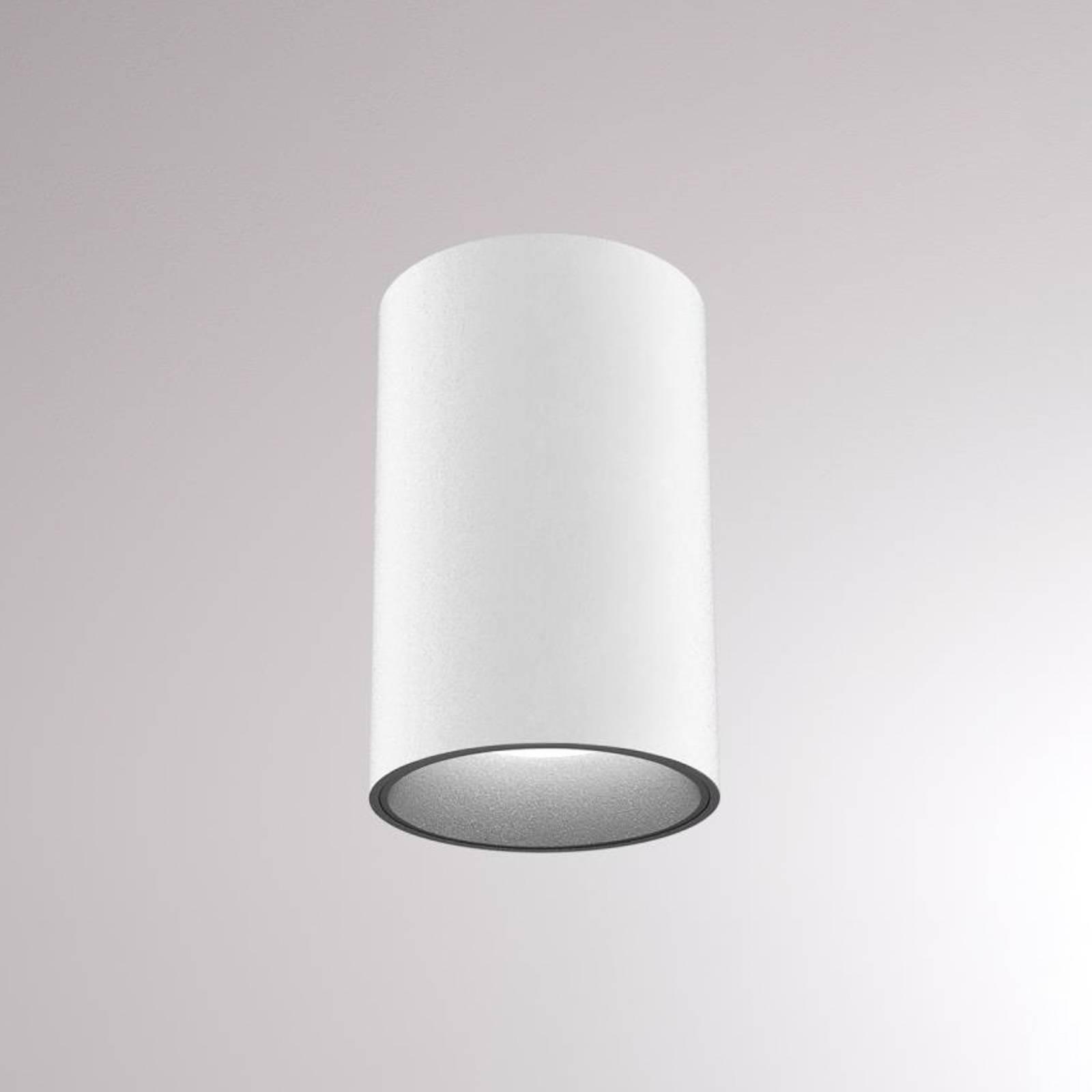 LOUM Atus Round -LED-kattovalaisin, valkoinen