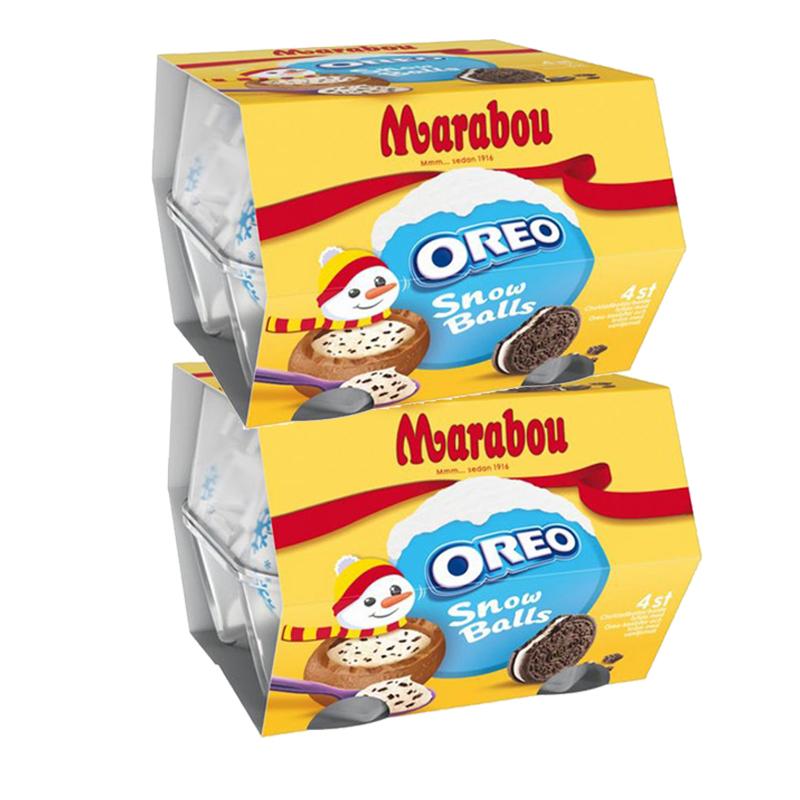 Oreo Snowballs 2 x 4kpl - 41% alennus