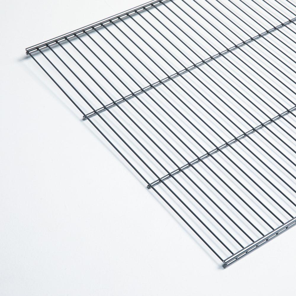 Pelly System Trådhylle, dybde 464 mm Sølv, 1101