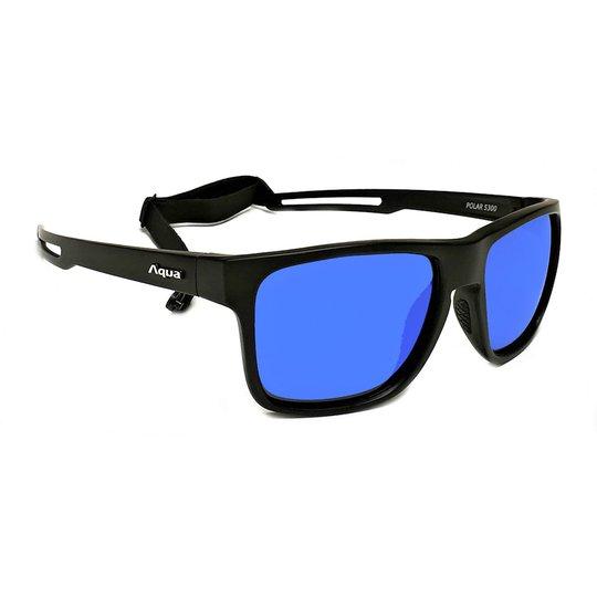 Aqua Polar solglasögon, Mirror Blue