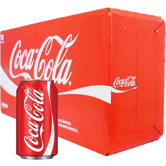 Coca-Cola 18 x 330ml - 25% rabatt