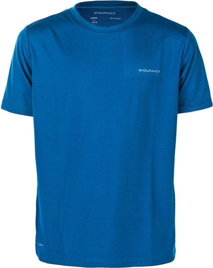 Endurance Vernon Performance T-Shirt, French Blue 8 år