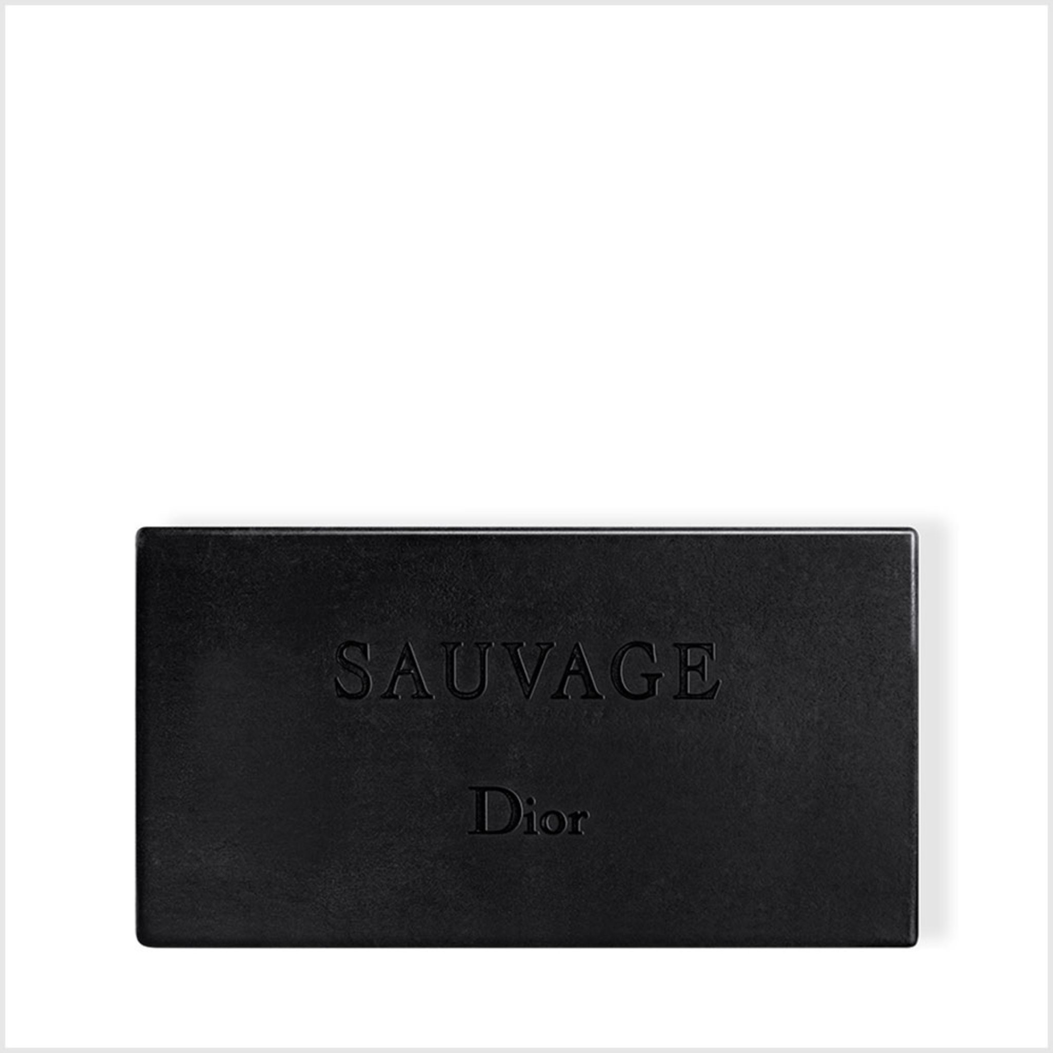 Sauvage Black Charcoal Soap, 200 G