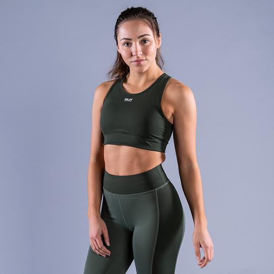 CLN Intense Sport Bra, Dark Green