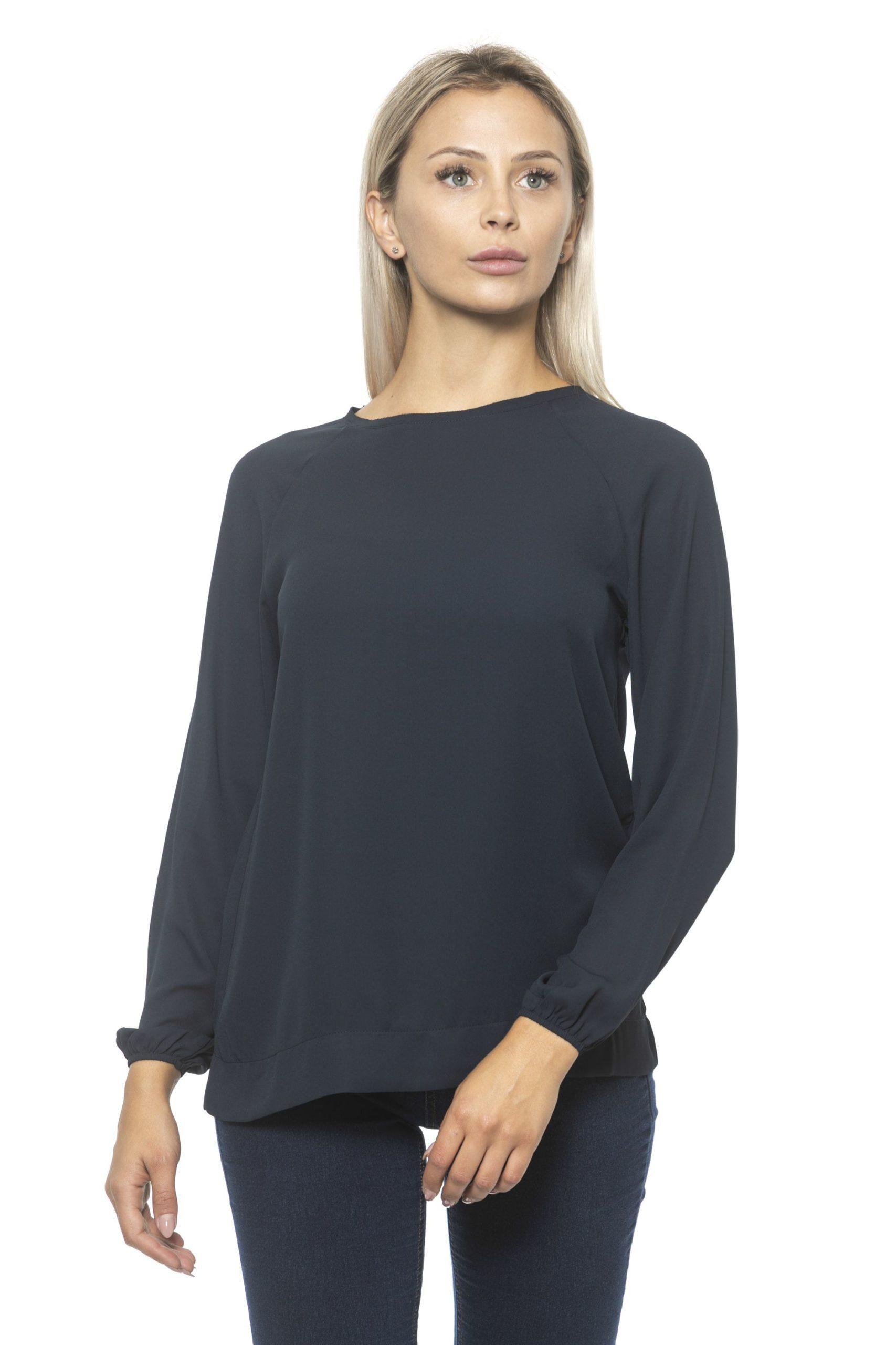 Alpha Studio Women's Blunotte Sweater Blue AL1314782 - IT40 | XS