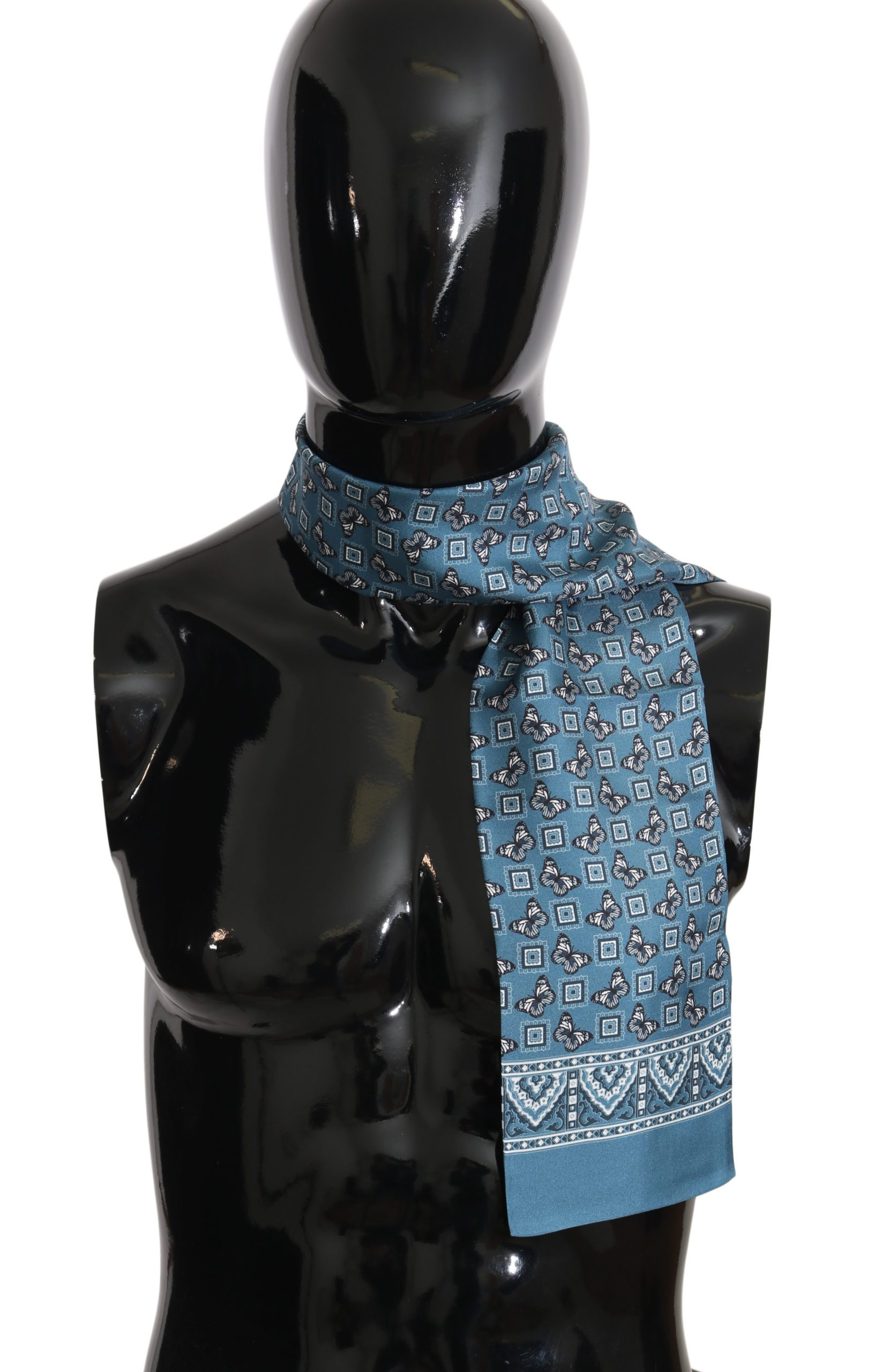 Dolce & Gabbana Men's Scarf Blue MS1753