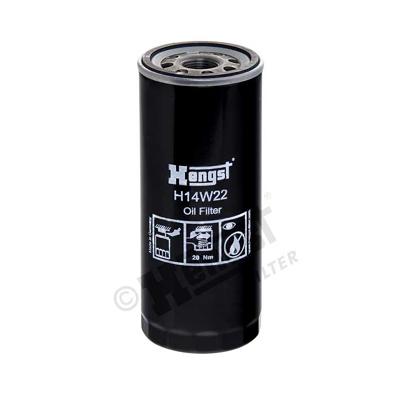 Öljynsuodatin HENGST FILTER H14W22