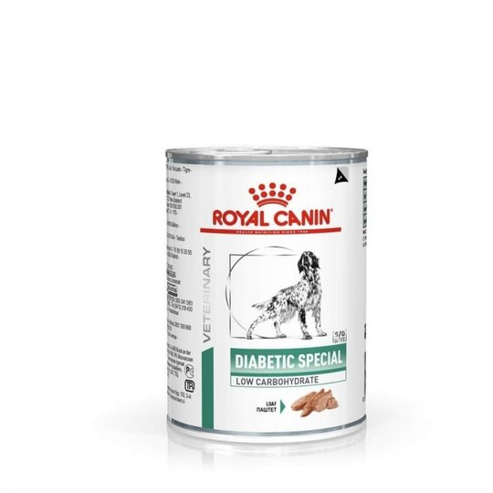 Royal Canin Veterinary Diets Dog Diabetic Special Low Carbohydrate Loaf 12x410 g