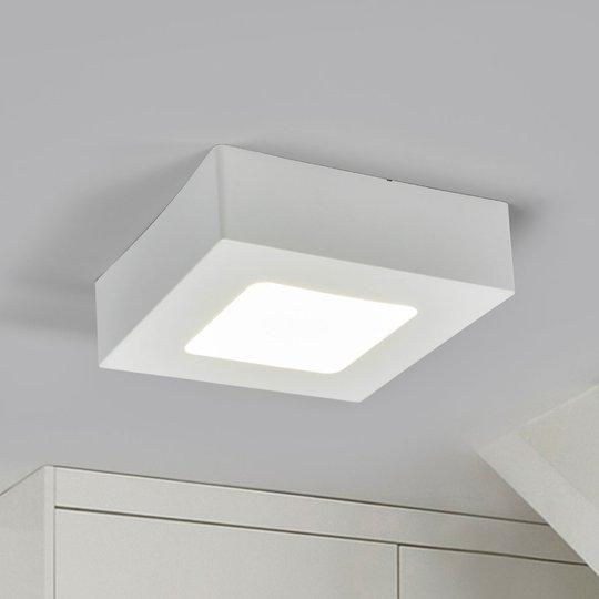 LED-kattovalo Marlo valkoinen 4000K kulmikas 12 cm