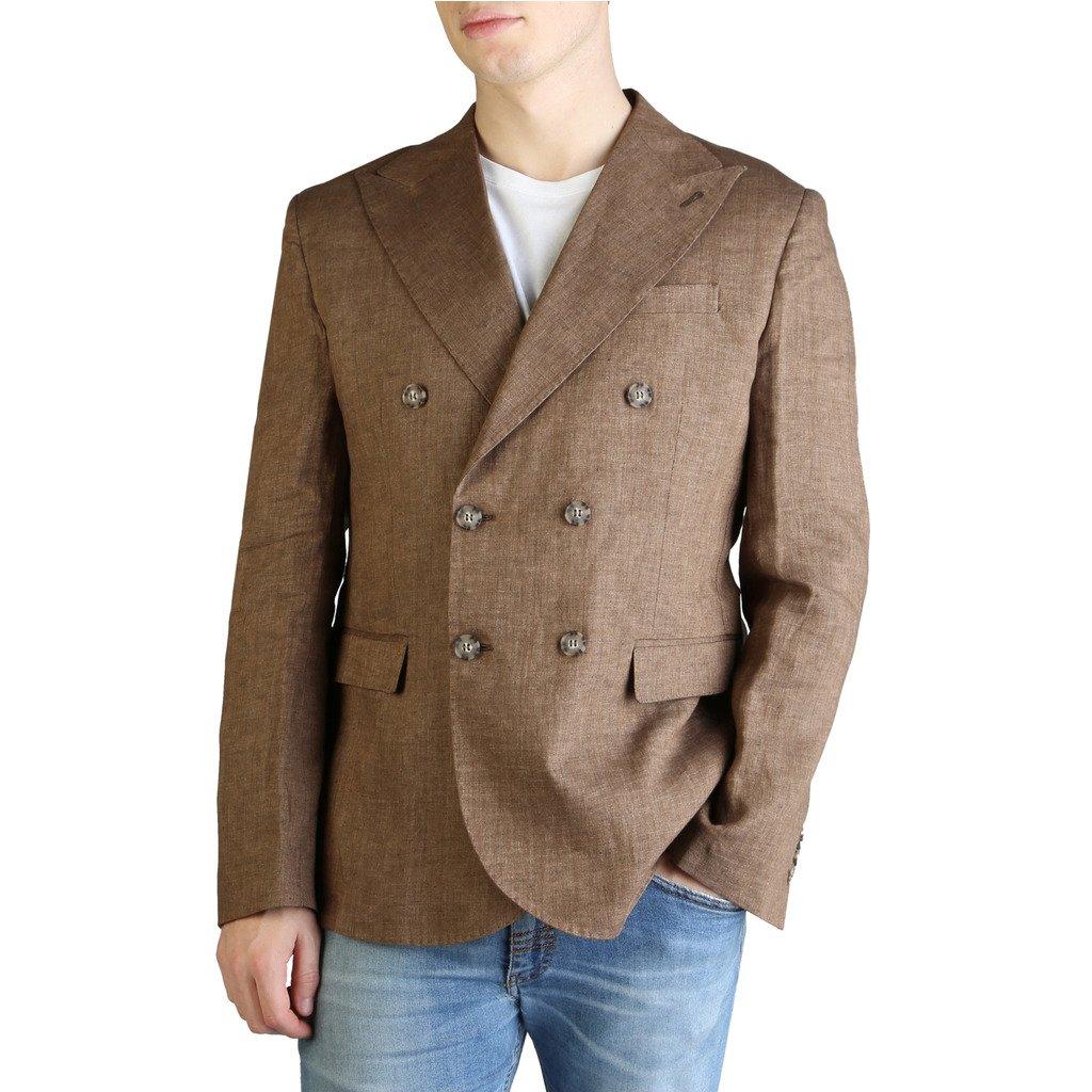 Yes Zee Men's Formal Jacket Various Colours G500_DA00 - brown 48