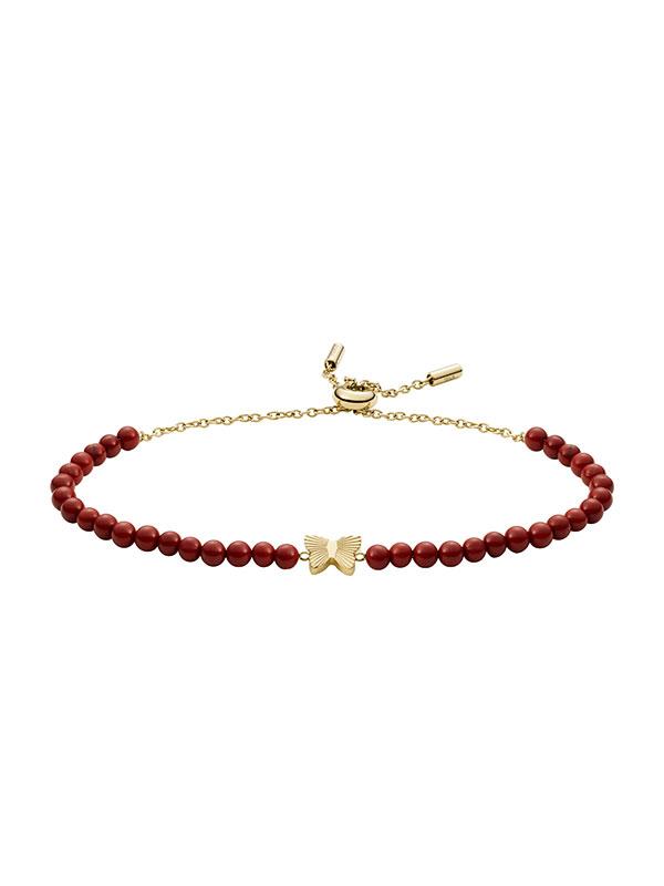 FOSSIL Armband Georgia - Röd JF03792710