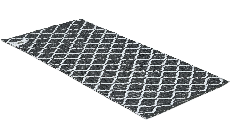 Eclipse svart - plastteppe