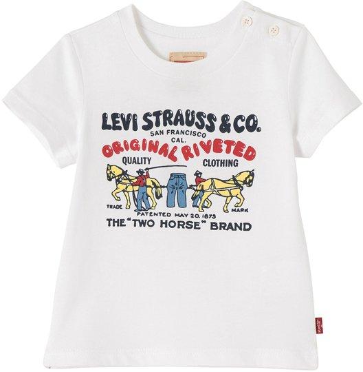 Levi's Kids T-Skjorte, White 3 md.