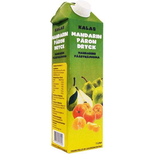 Päron- & Mandarindryck 1l - 33% rabatt