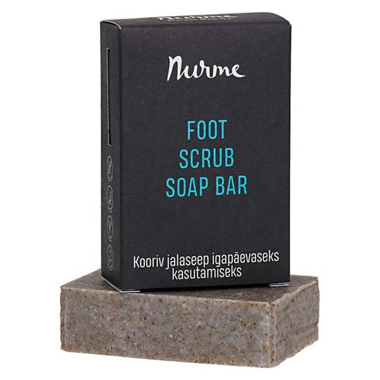Nurme Foot Scrub Soap Bar, 110 g