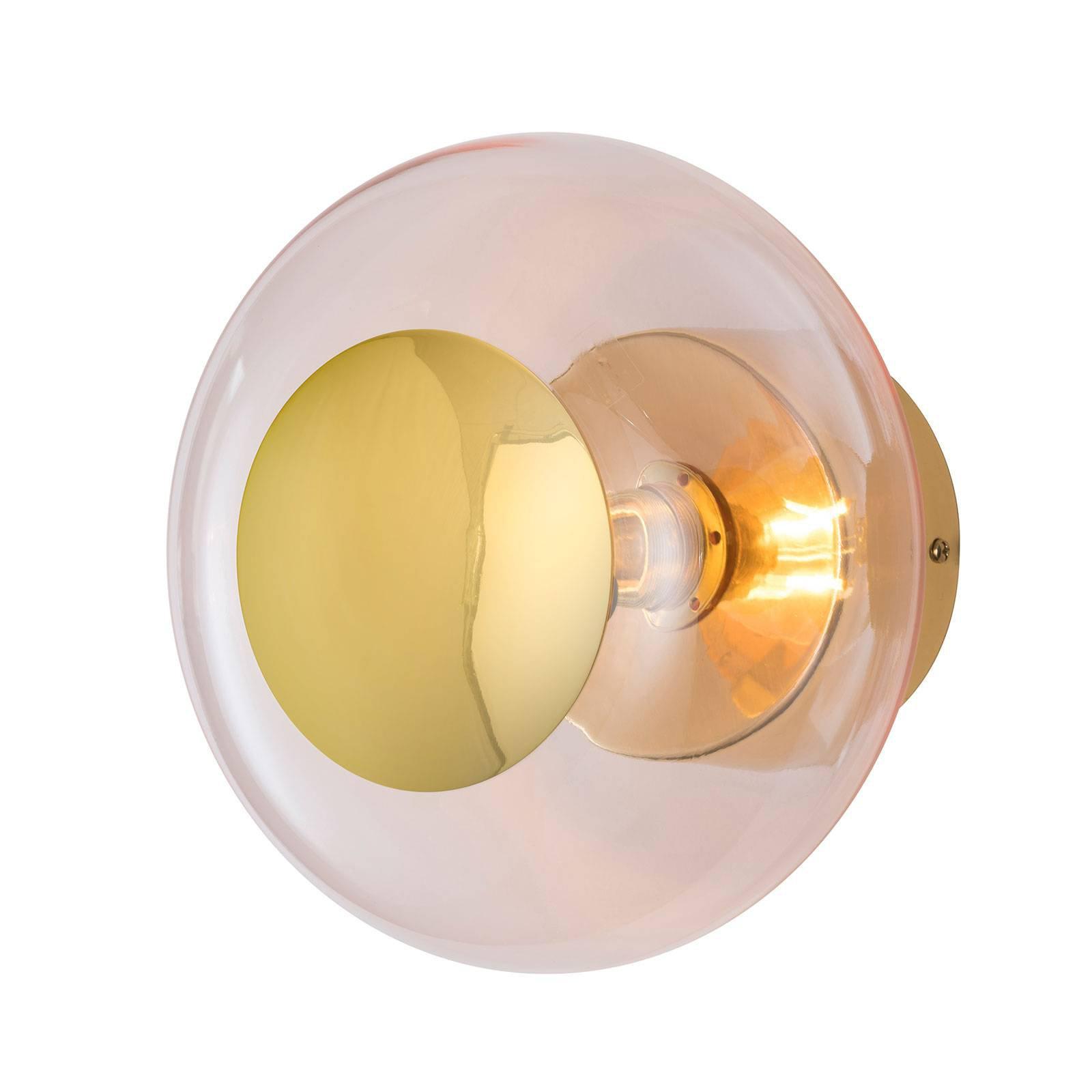EBB & FLOW Horizon fatning, gull//roségull, Ø 21cm