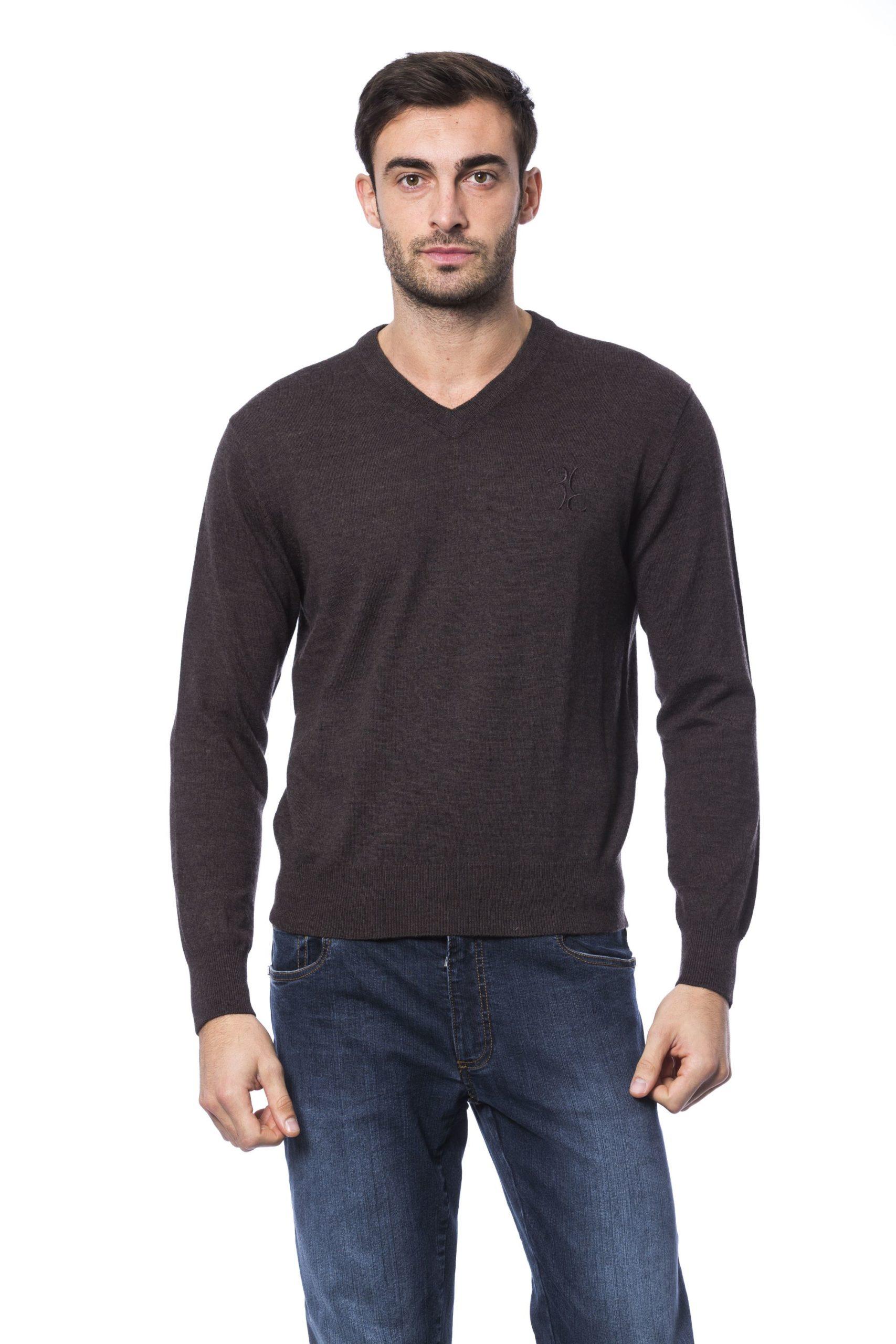 Billionaire Italian Couture Men's Marr Sweater Brown BI1271982 - M