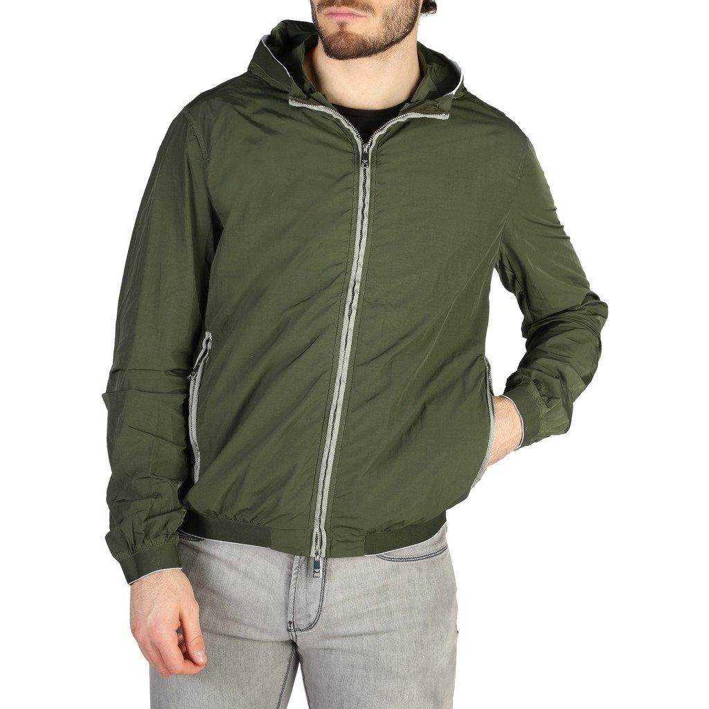 Emporio Armani Men's Jacket Green 3Z1BA91NSUZ0 - green 46
