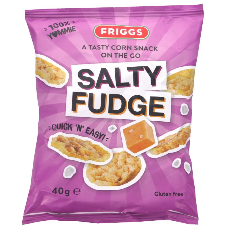 Majssnacks Salty Fudge - 25% rabatt
