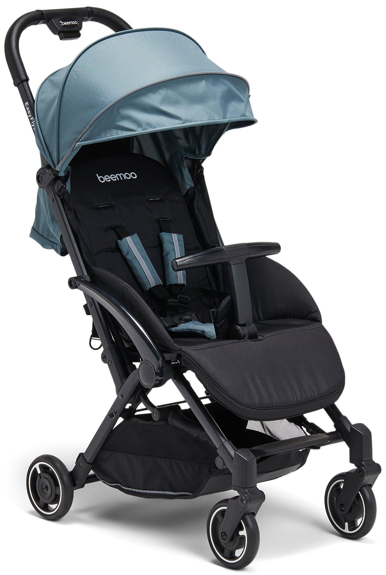 Beemoo Easy Fly Lux 2 Lastenrattaat, Stormy Weather