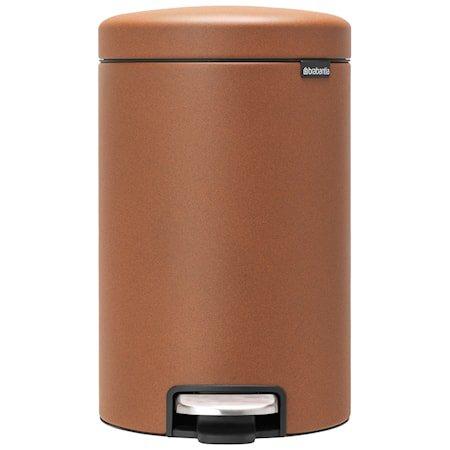 NewIcon Pedalbøtte Mineral Cinnamon 12 liter