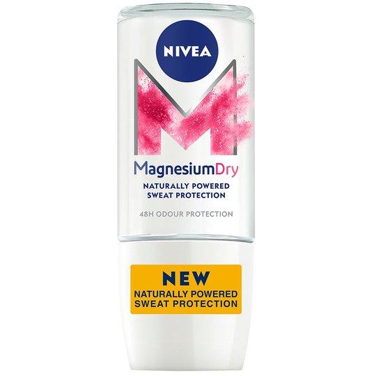 Magnesium, 50 ml Nivea Roll-on-deodorantit