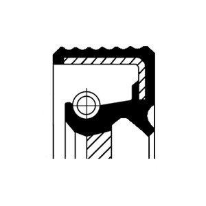 Oljepackningsring, differential, Fram, Ingång, Utgång