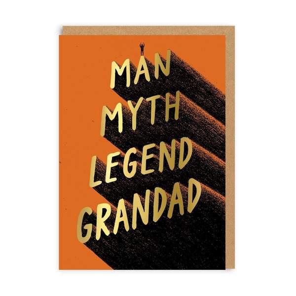 Legend Grandad Greeting Card