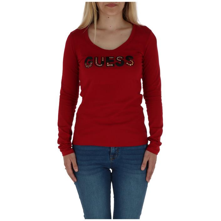 Guess Women's Sweater Red 258486 - red XS