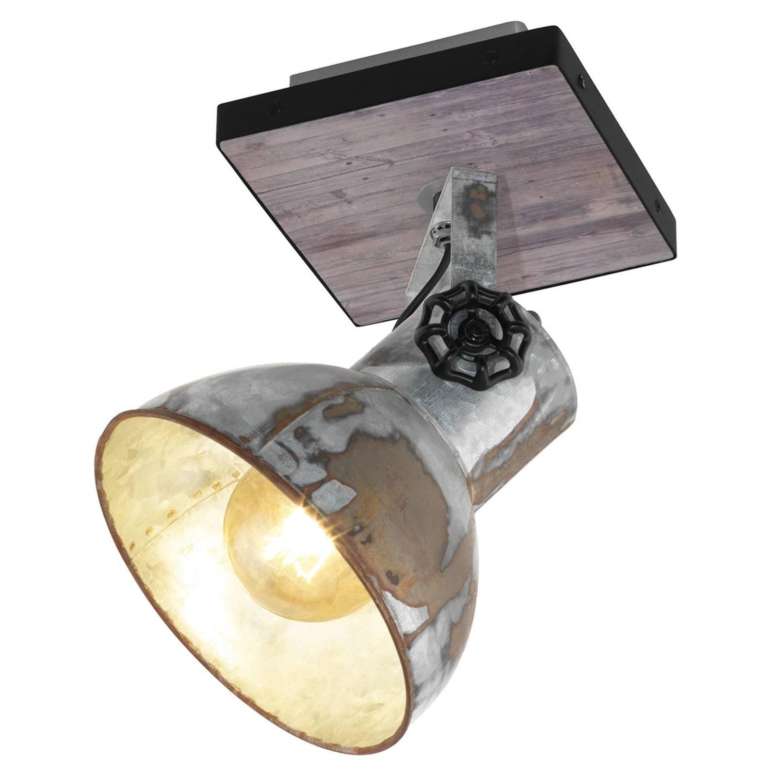 Taklampe Barnstaple i industriell stil, 1 lyskilde