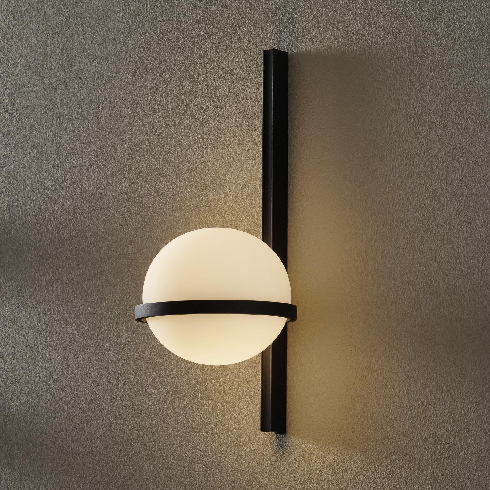 Vibia Palma 3710 LED-seinävalaisin, grafiitti