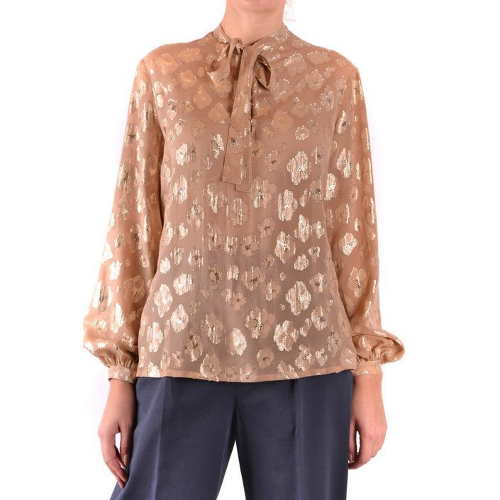 Saint Laurent Women's Shirt Black 187259 - beige 38