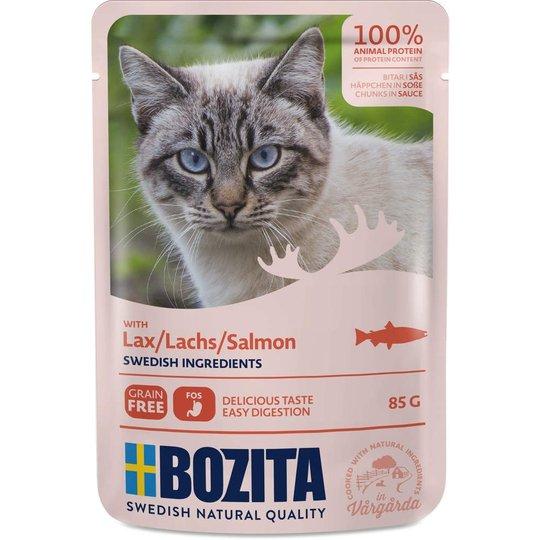 Bozita Feline Bitar i Sås med Lax