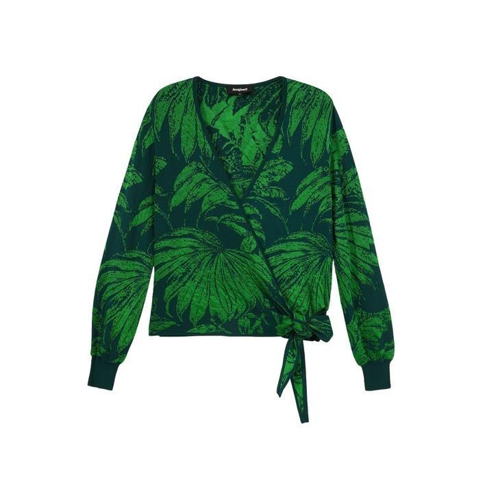 Desigual Women's Sweater Green 305243 - green XS