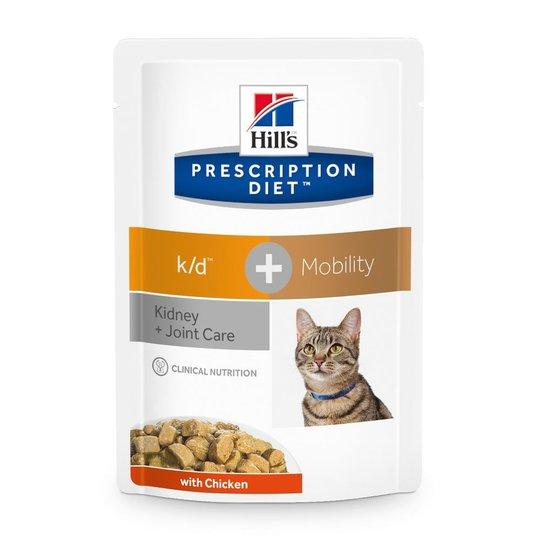 Hill's Prescription Diet Feline k/d + Mobility Kidney + Joint Care Chicken 12x85 g