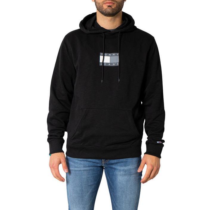 Tommy Hilfiger Jeans Men's Sweatshirt Black 252563 - black S