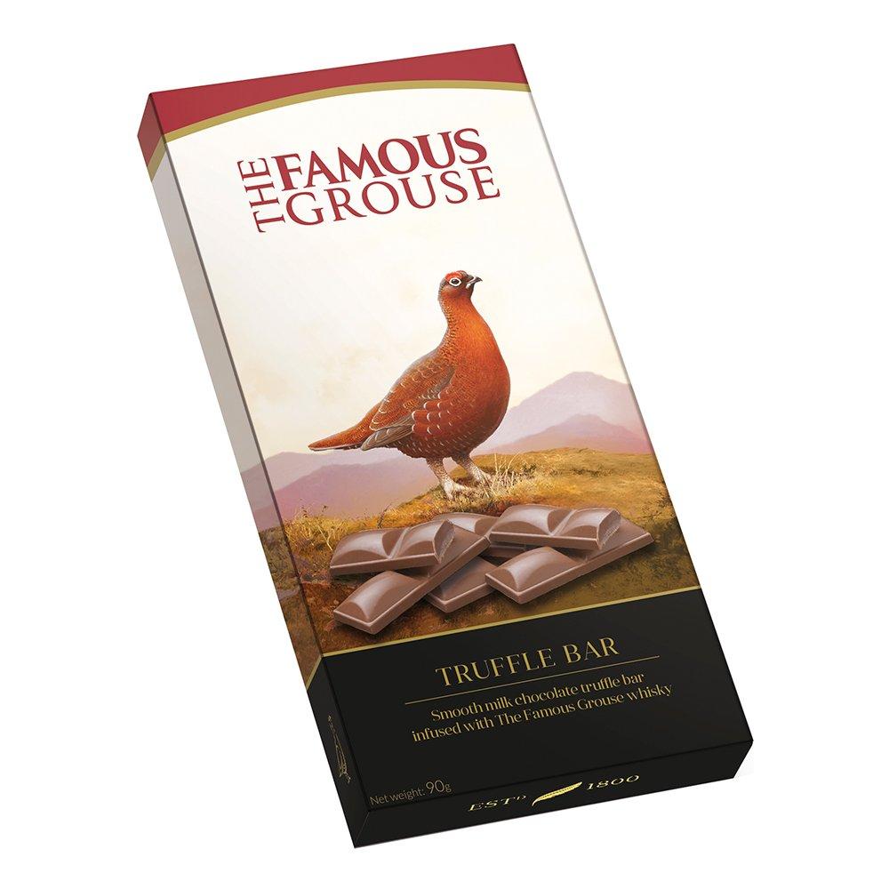 Famous Grouse Truffle Chokladkaka - 90 gram