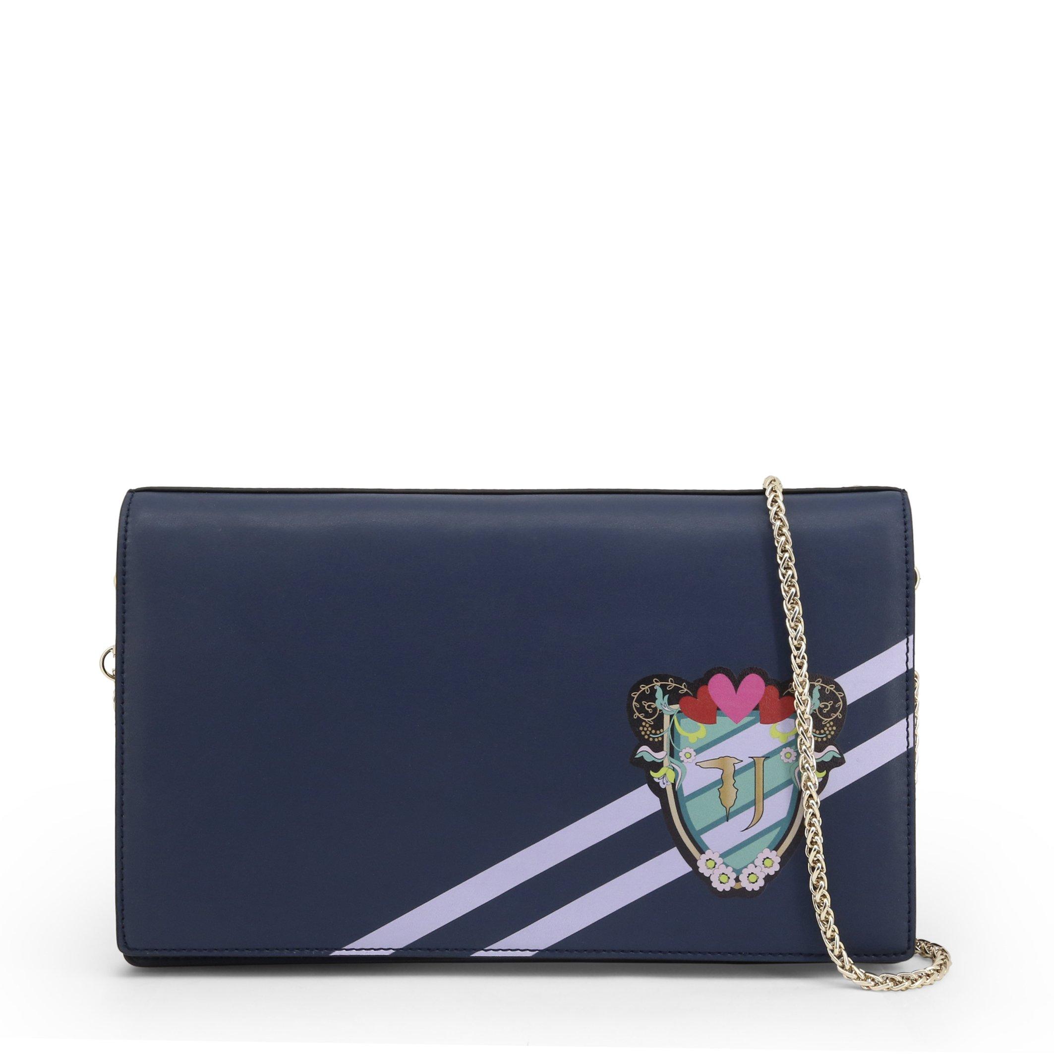 Trussardi Women's Clutch Bag Various Colours CUMINO_75B00413 - blue NOSIZE