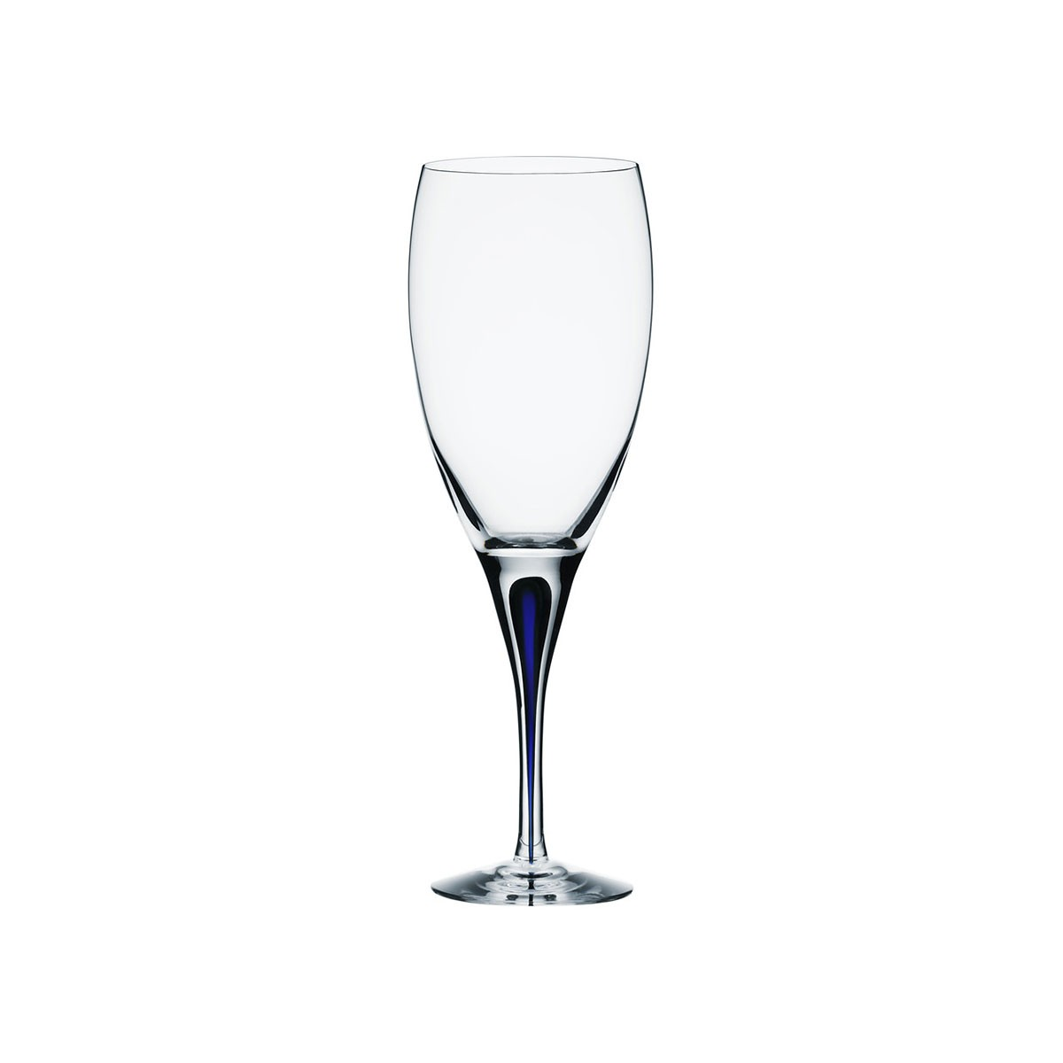 Orrefors Of Sweden I Intermezzo Blue Goblet 33 cl