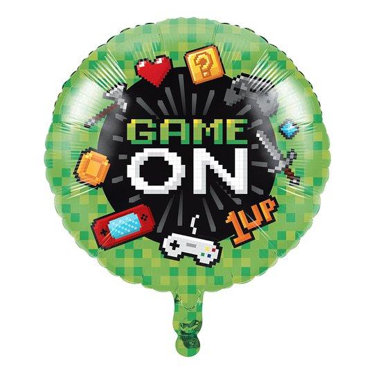 Folieballong Gaming Party Metallic - 1-pack