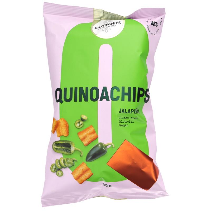 Kvinoasipsit Jalapeno - 25% alennus