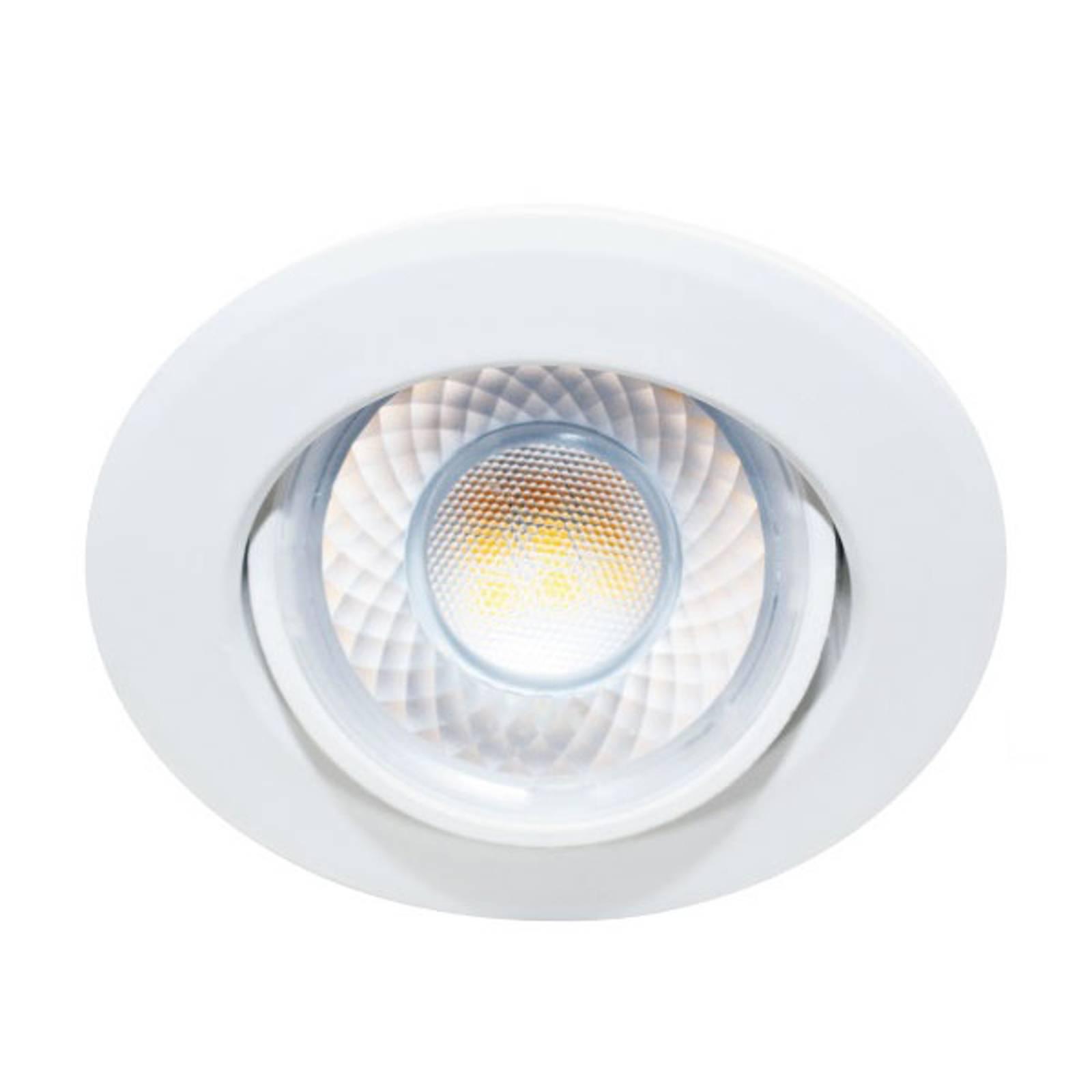 LED-uppokohdevalo Dekto 7,8cm 38° 8W Ra90 5000 K