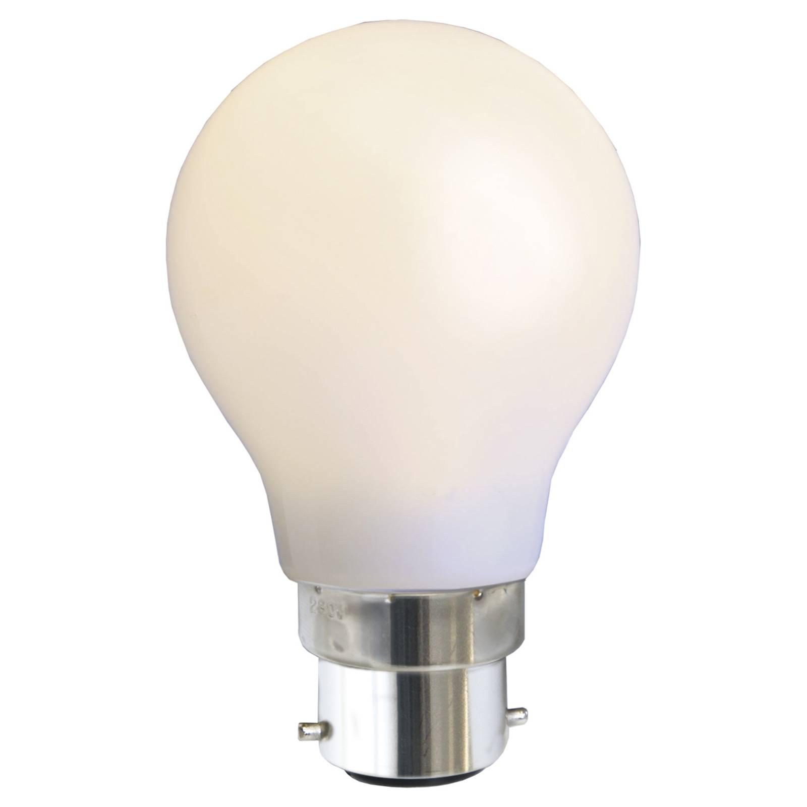 B22 1W -LED-lamppu, valkoinen