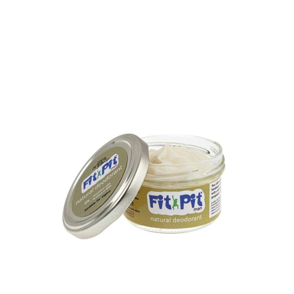 Fit Pit Man – Natural Deodorant (25ml/100ml) 25ml