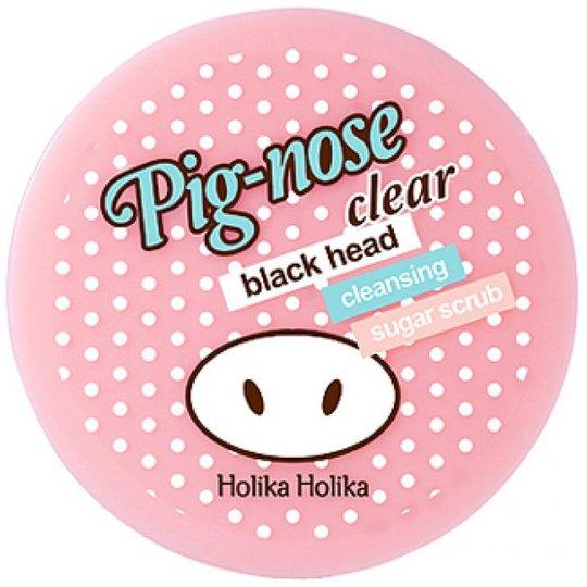Pig Nose Clear Blackhead Cleansing Sugar Scrub, 25 g Holika Holika K-Beauty
