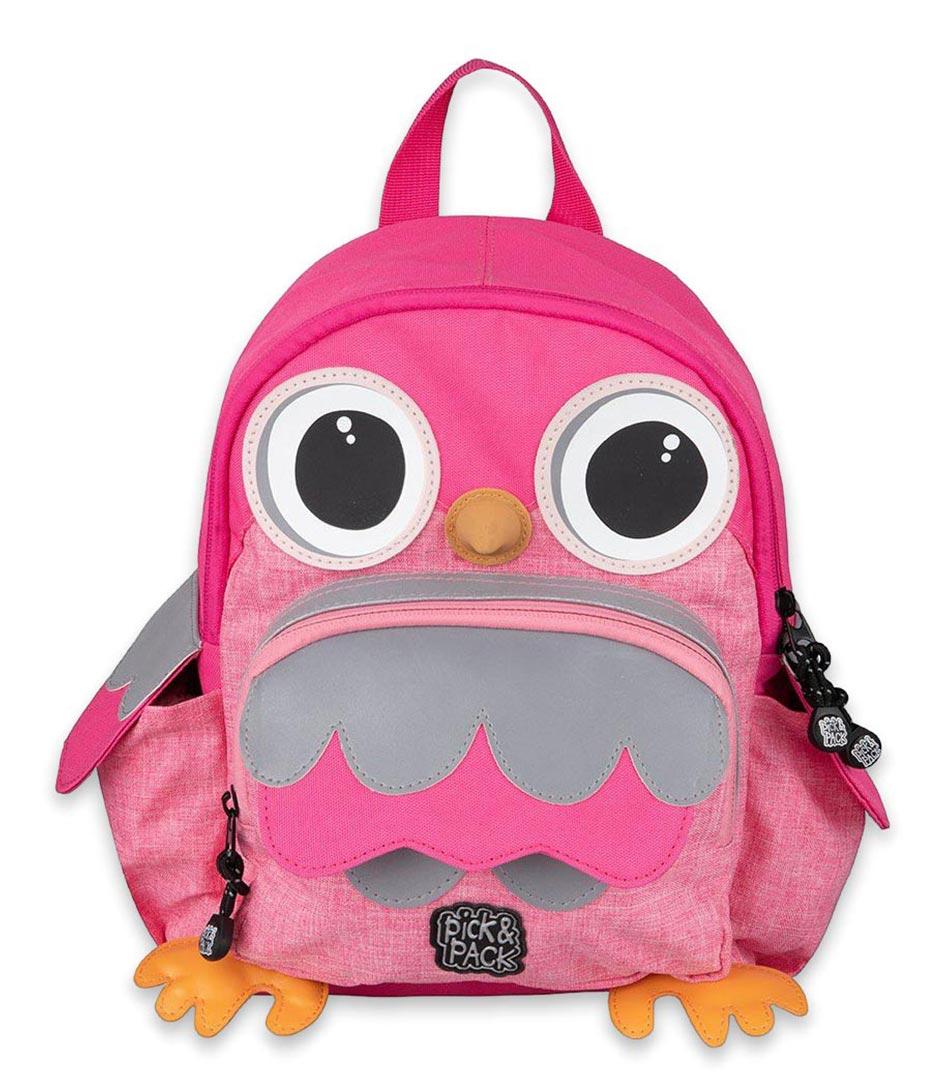 Pick & Pack - Owl Shape Backpack 7 L - Pink (276625)