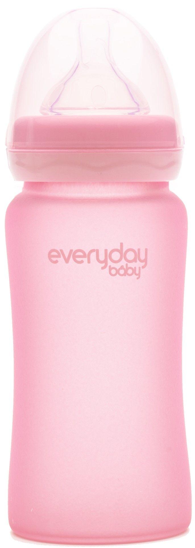 Everyday Baby Nappflaska 240 ml, Rose Pink